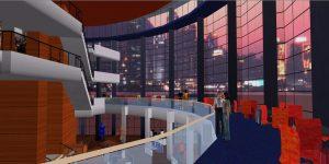 Virtual Benaroya Hall with Avatars
