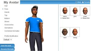 3DXplorer Avatar Configurator