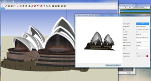 Sydney Opera House Imported into 3DXplorer with COLLADA