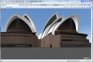 Opera House in 3DXplorer