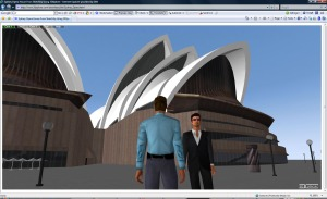 Opera House with Avatars