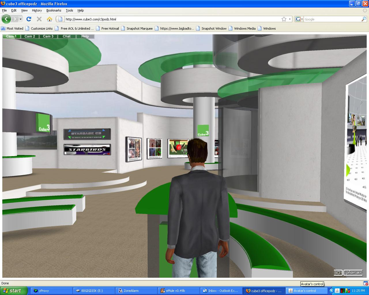 3dxplorer web 3d virtual events virtual worlds conferencing
