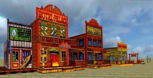 Lucky Luke Village in 3DXplorer