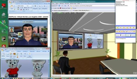 3DXplorer online meeting screenshot