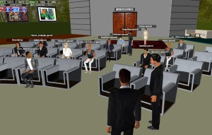A Virtual Conference on 3DXplorer