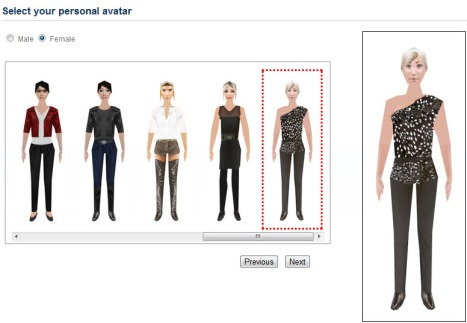 3DXplorer new female avatars