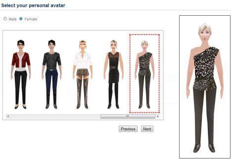 3DXplorer new female avatars